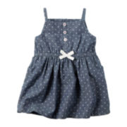 Carter's® Sleeveless 4th of July Chambray Dress - Baby Girls newborn-24m