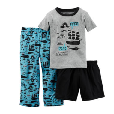 jcpenney.com | Carter's® 3-pc. Pirate Pajama Set - Baby Boys 12m-24m
