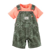 Carter's® Tee and Shortalls Set - Baby Boys newborn-24m