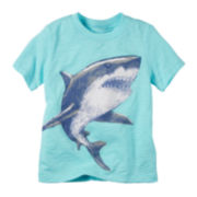 Carter's® Short-Sleeve Shark Tee - Toddler Boys 2t-5t