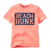 Carter's® Short-Sleeve Hunk Tee - Toddler Boys 2t-5t