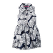 Carter's® Sleevelessl Floral-Print Dress - Toddler Girls 2t-5t