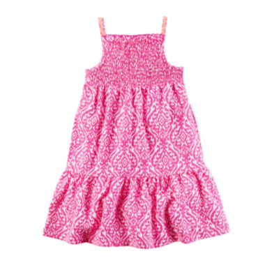 jcpenney.com | Carter's® Sleeveless Geo-Print Dress - Toddler Girls 2t-5t