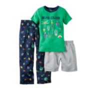 Carter's® 3-pc. Bugs Pajama Set - Preschool Boys 4-7