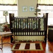 My Baby Sam Paisley Splash 3-pc. Baby Bedding