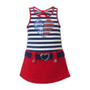 Lilt Marsha Sleeveless Americana Dress - Toddler Girls 2t-5t