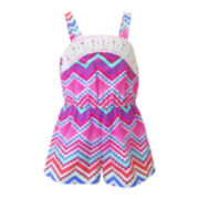 Lilt Sleeveless Aztec Romper - Toddler Girls 2t-5t