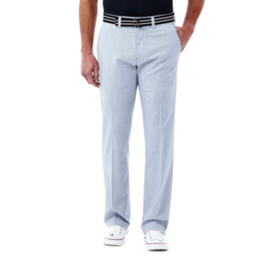 jcpenney.com | Haggar® Straight-Fit Stretch Belted Pants