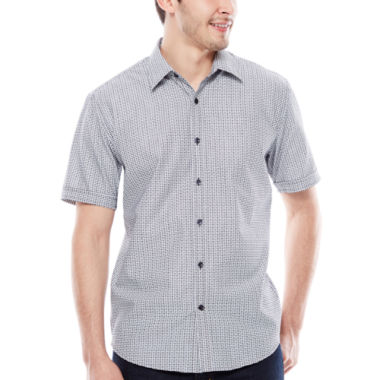 jcpenney.com | JC Los Angeles Short-Sleeve Woven Shirt