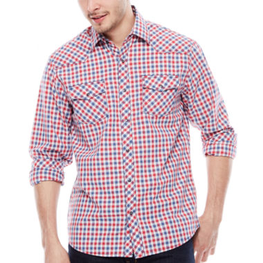 jcpenney.com | JC Los Angeles Long-Sleeve Woven Shirt