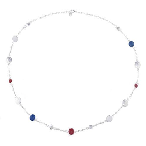 Gloria Vanderbilt Womens Multi Color Strand Necklace