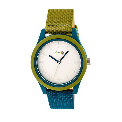 Crayo Pleasant Unisex Multicolor Strap Watch-Cracr3903