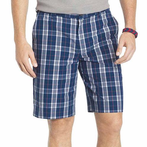 IZOD Portsmith Plaid Shorts