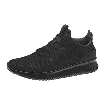 adidas cloudfoam trainers black