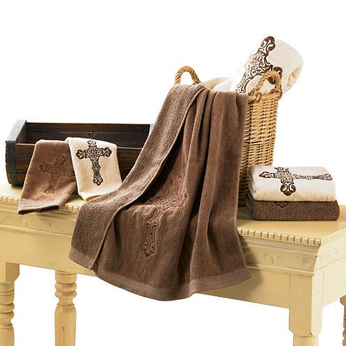 Hiend Accents Cross 3-pc. Bath Towel Set