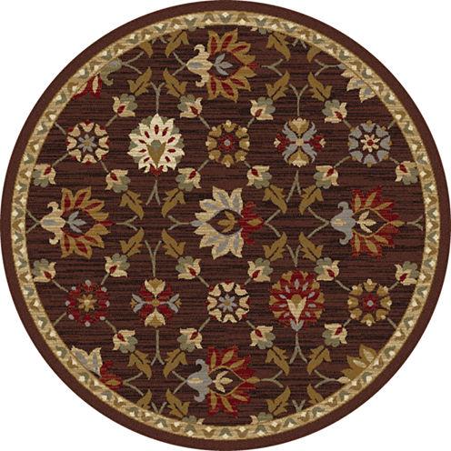 Tayse Elegance Devon Round Rugs