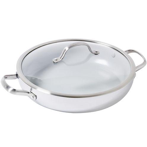 "GreenPan Venice Pro 12"" Stainless Steel Everyday Pan"