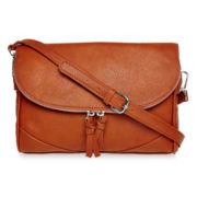 Liz Claiborne® Zip-Flap Crossbody Bag