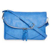 Liz Claiborne Zip-Flap Crossbody Bag