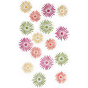 Umbra® Set of 16 Savannah Flower Wall Decals