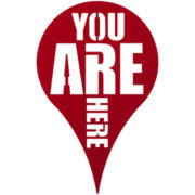 Umbra® You Are Here Wall Decor
