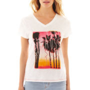 Levi's Short-Sleeve Sunset Palm Tee