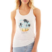 Levi's Distressed Palm Tank Top