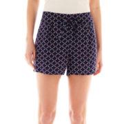 a.n.a Soft Mid-Rise Drawstring Shorts