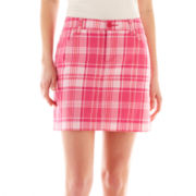 St. John's Bay Plaid Skort