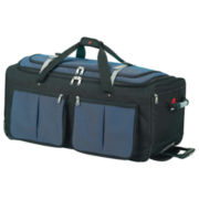 """Athalon 22"""" Rolling Duffel Bag with 15 Pockets"""