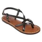 Mixit™ Strappy Asymmetrical Sandals