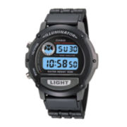 Casio® Illuminator Mens Black Resin Strap Chronograph Sport Watch W87H-1VOS