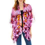 Tribal Tie-Dyed Kimono