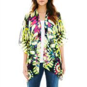 V. Fraas Tribal Tie-Dyed Kimono