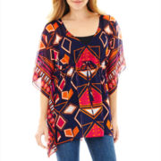 V. Fraas Geometric Drawstring Tunic