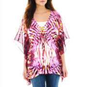 Palms Drawstring Tunic