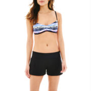 Nike® V-Back Sports Bra Swim Top or Core Boardshorts