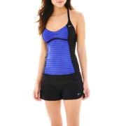 Nike® Racerback Tankini Swim Top or Core Swim Shorts