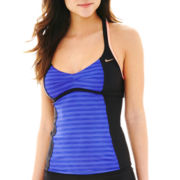 Nike® Color Pulse Racerback Tankini Swim Top