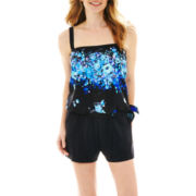 Azul by Maxine of Hollywood Tankini Swim Top or Tricot Short Bottoms