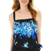 Azul by Maxine of Hollywood Tankini Swim Top