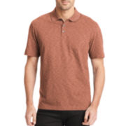 Van Heusen® Short-Sleeve Space Dye Polo