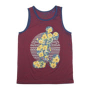 Disney Mickey Mouse Tropical Dreams Graphic Tank Top