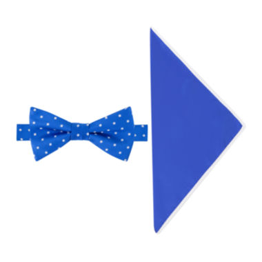 jcpenney.com | Glow in the Dark Dot Bow Tie and Pocket Square Set
