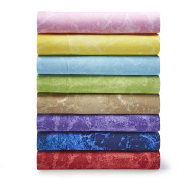 jcpenney.com | JCPenney Home™ 300tc Splash Sheet Set