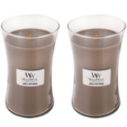 WoodWick® Set of 2 Large Sand & Driftwood Candles