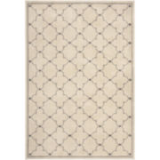 Geo Dot Rectangular Rug