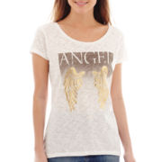 MNG by Mango® Short-Sleeve Angel Graphic T-Shirt