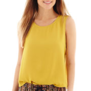 MNG by Mango® Sleeveless Envelope-Back Top