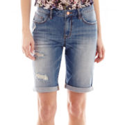 I 'Heart' Ronson® Denim Bermuda Shorts